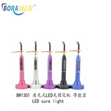 LED curing light with pedestal